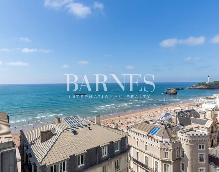 BIARRITZ, CITY CENTER, APARTMENT WITH SEAVIEW
