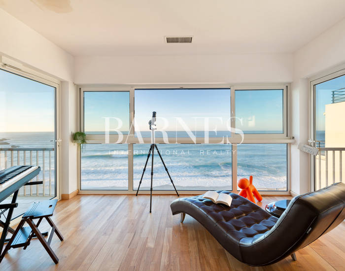 PANORAMA - IN THE HEART OF BIARRITZ RENOVATED APARTMENT WITH SEAVIEW FOR 4 PEOPLE