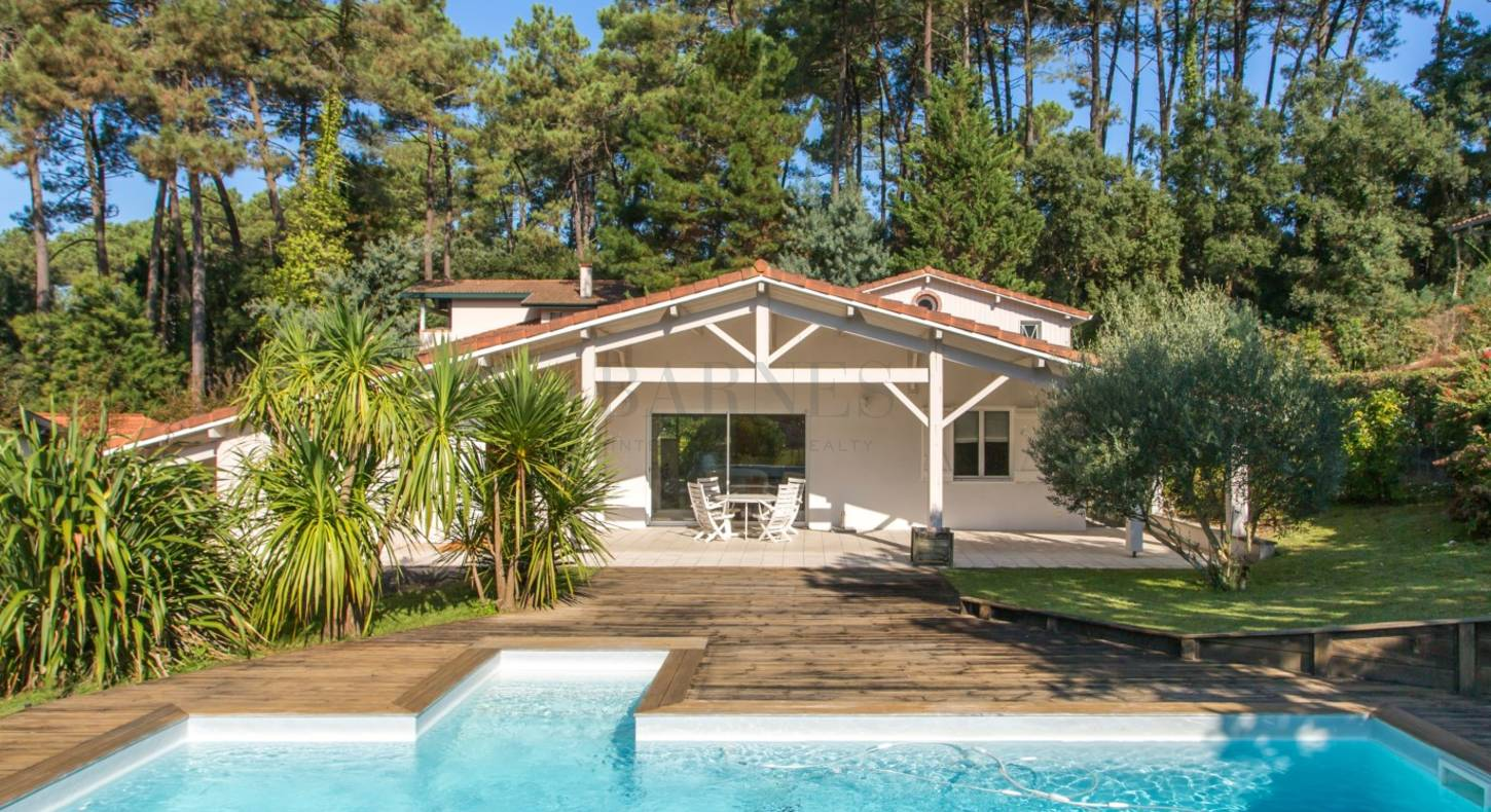 villa hossegor 250m2 heated swimming pool