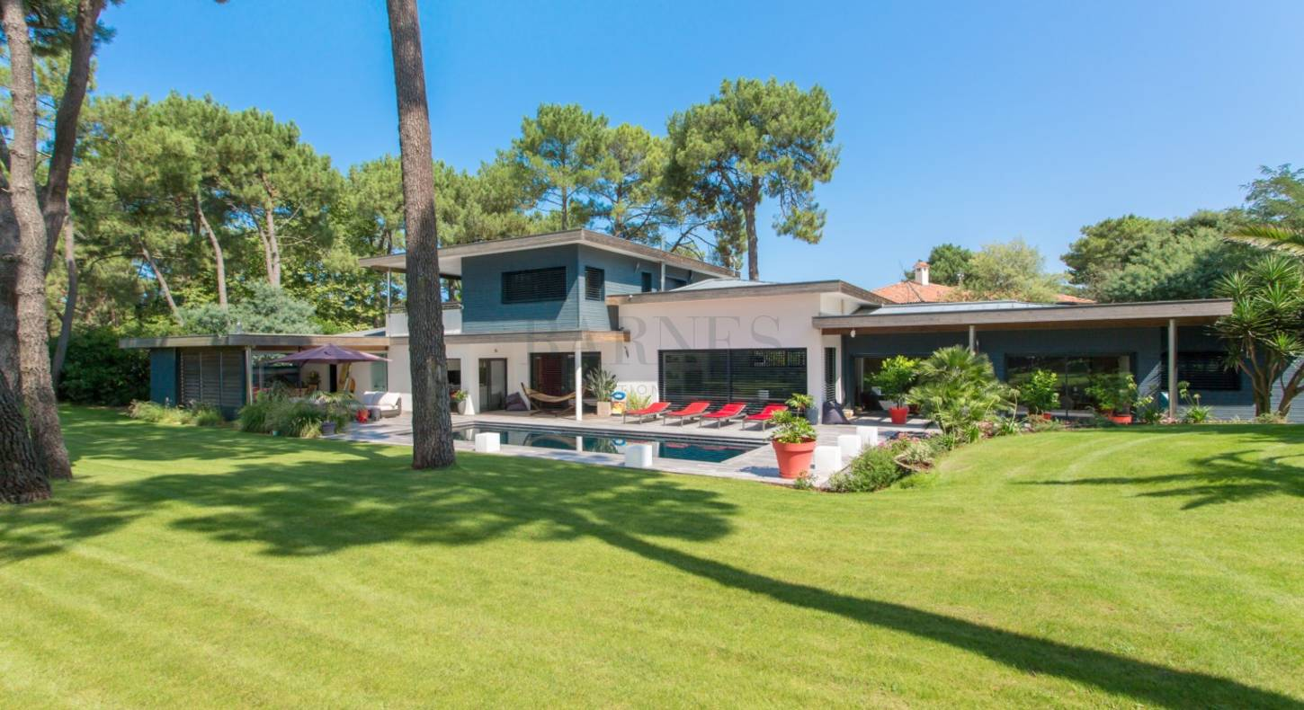 contemporary house hossegor beach 300 m2