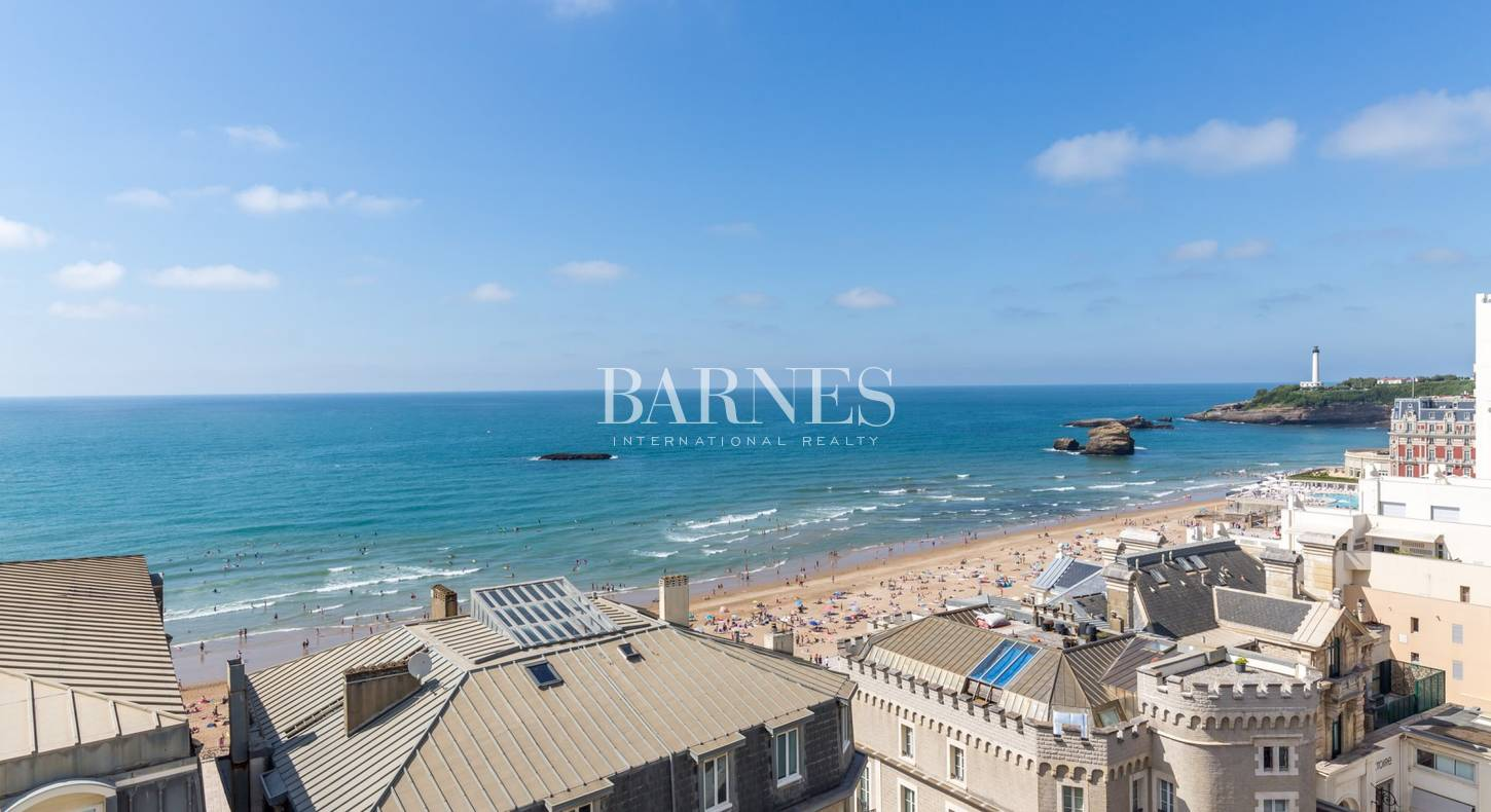seaside apartment for sale in biarritz city center