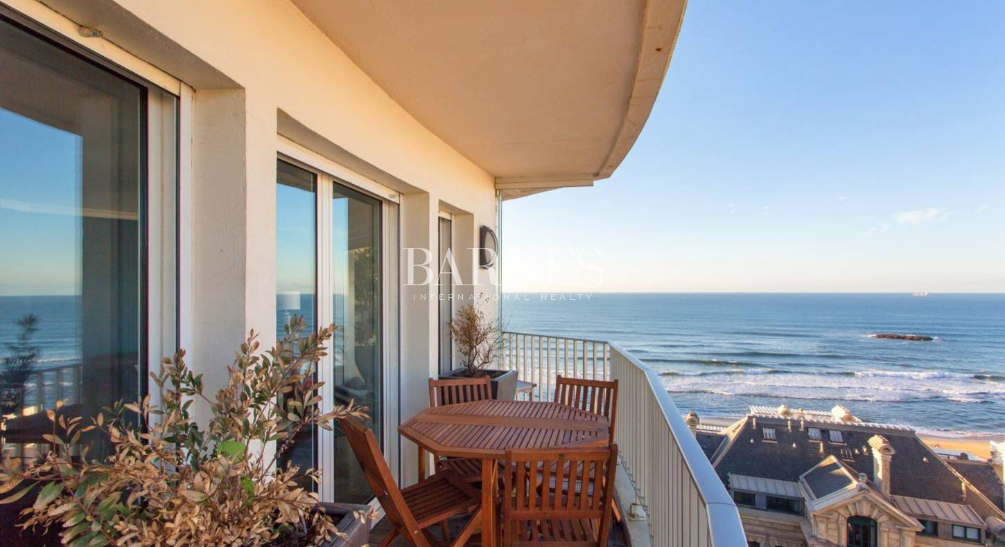 large seaside apartment for sale in biarritz